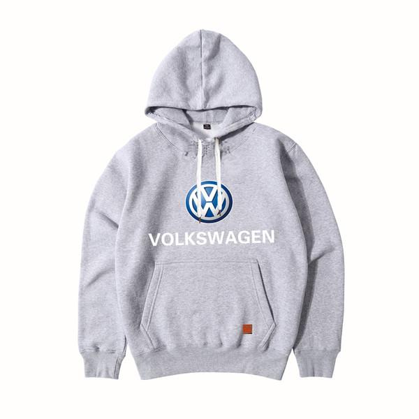 selección premium 46994 12bca Compre Nueva Moda Volkswagen Logo Ropa Deportiva Sudaderas Con Capucha  Sudadera De Manga Larga Para Hombre Sudaderas Con Capucha VW Hoody Ropa ...