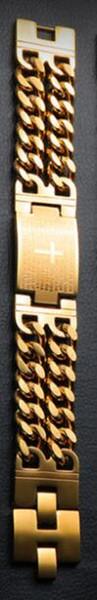 21cm gold Cross