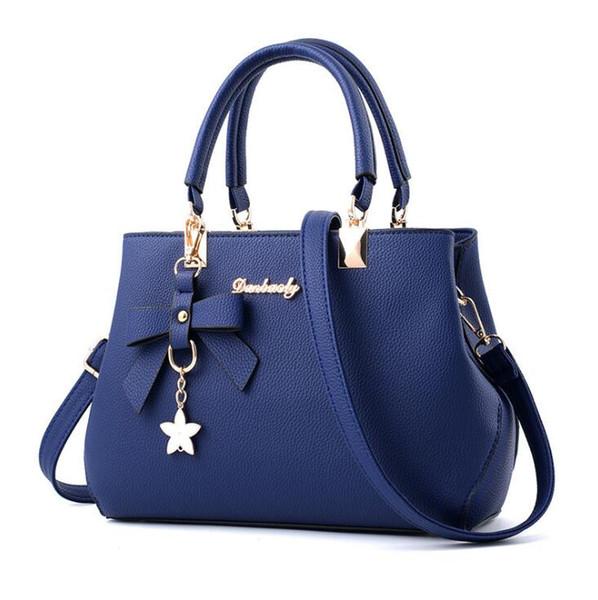 Butterfly-knotted Women's Handbag Korean fashion ladies shoulder bag Leisure Mom's One Shoulder Slant Bag