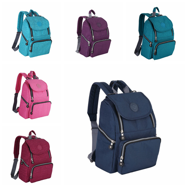 6styles Mommy Diaper bag backpack Pregnant woman Outdoor Travel Bags Nappy Maternity portable zipper Organizer Tote FFA1769