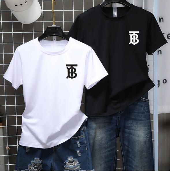 2018 Magliette di lusso Estate con lettere Camicia da designer Abbigliamento uomo Top Fashion Tide Streetwear Maiale Taglie ricamate S-3XL