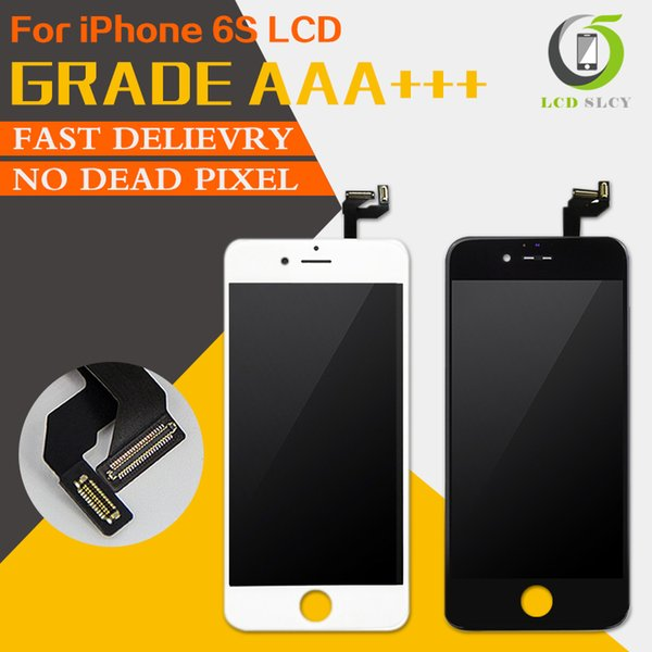 All Test AAA No Dead Pixel AAA LCD For iPhone 6S LCD Display With Touch Screen Digitizer Assembly Free Tempered film+Tools