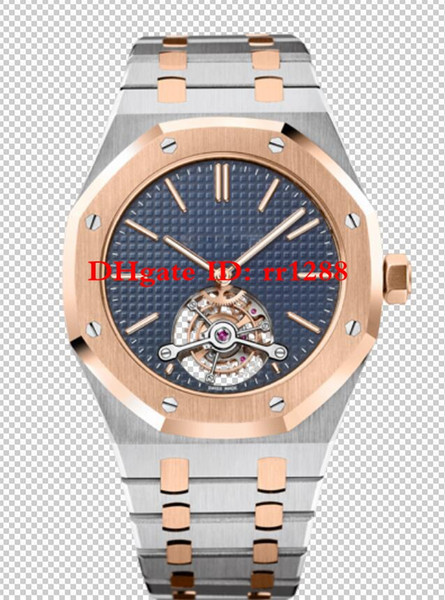 5 Style High Quality N8 factory Watch Royal offshore oak Power reserve 26517SR.OO.1220SR 26510ST Automatic mens watches