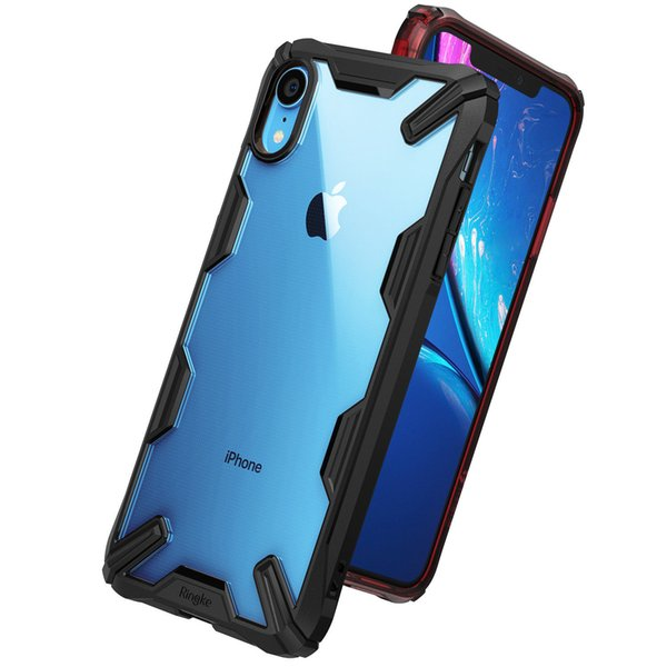 Luxury Dual Heavy Duty Armor Bumper Soft Rubber Silicone Ultra-Thin Shockproof Back Phone Case Cover For Apple iPhone XS Max XR X 8 7 Plus