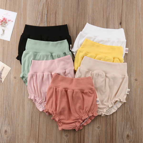 top popular Summer Toddler Infant Baby Girl Boy Cotton Casual Shorts PP Pants Baby Kids Clothes Children Trousers Bottoms 0-4T 2021