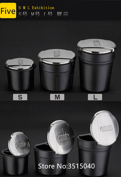 High Quality Car Ash Tray Ashtray Storage Cup for Audi A8 L A1 A3 A4 A4L A5 A6 A6L A7 Q3 Q5 Q7 TT or A8 Car styling Accessories