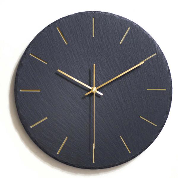 Großhandel Kreative Ins Schwarz Wanduhr Modernes Design Wanduhr Mechanismus  Pow Art Decor Uhr Relogio Parede Wohnzimmer 50ZB291 Von Anzhuhua, $62.68 ...