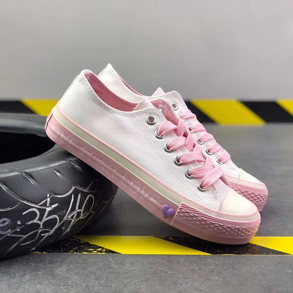 2019 Nuove famose scarpe Uomo Donna Sneakers di marca Casual Low Top Classico Skateboard Canvas Designer D3
