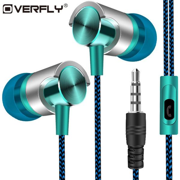 Auriculares con cable Super Bass Auriculares con sonido para auriculares Auriculares deportivos con micrófono para Xiaomi Samsung Huawei fone de ouvido