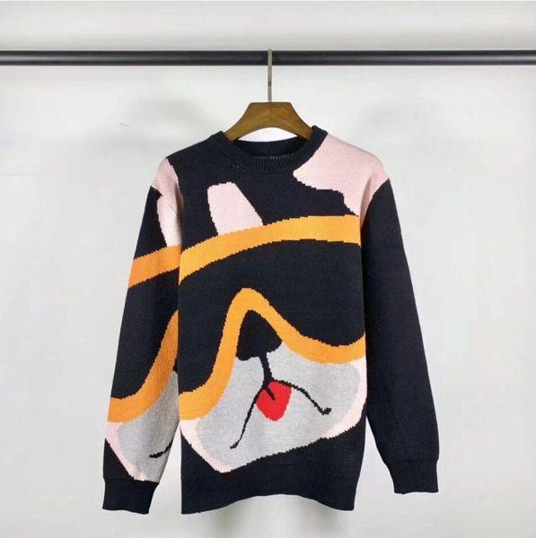 New Fashion Men women Cashmere sweaters casual jacket knitting pullover Luxury design unisex warm sweater coat G9860
