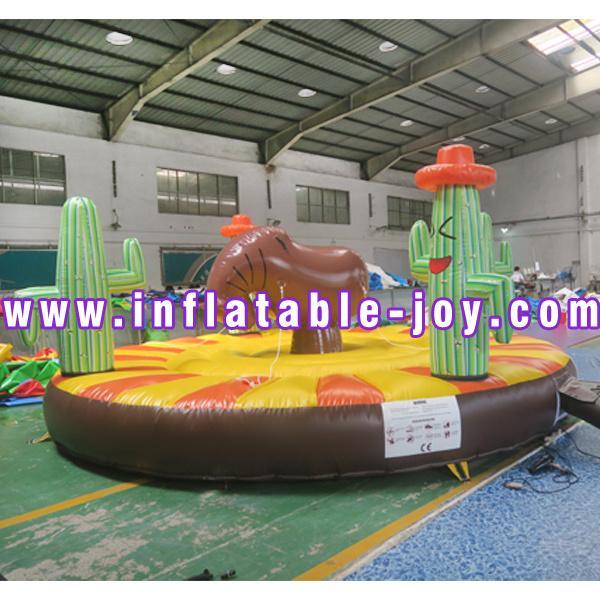 5 м круглый аттракцион надувные родео-игры для детей и взрослых, дешевые надувные игры животных