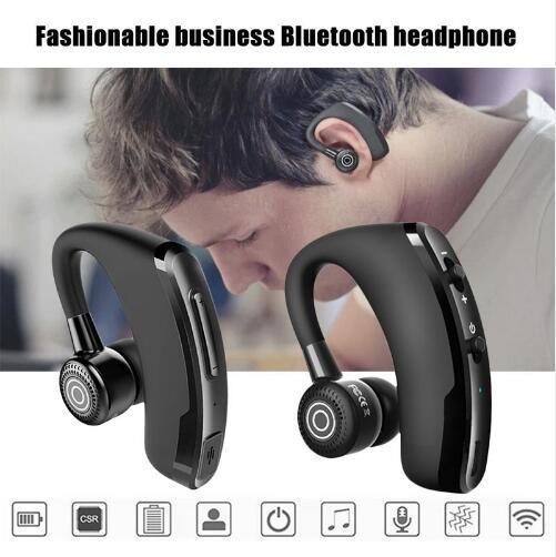 Drahtlose Bluetooth-Kopfhörer des Kopfhörer-V9 CSR 4.1 Geschäft Stereo-Ohrhörer Kopfhörer mit Mikrofon Sprachsteuerung mit Kleinpaket