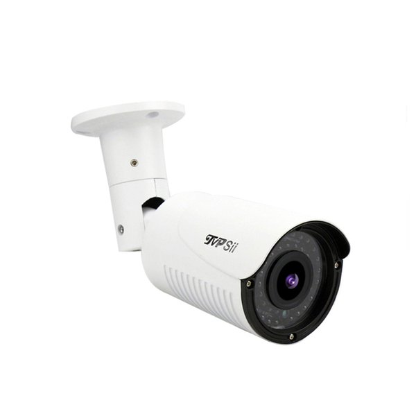 Mini Outdoor Camera Surveillance CCTV System 5MP/4MP/2MP H.265 42pcs infrared Led 2.8mm-12mm Lens 4X Arifocal Outdoor Zoom Metal ONVIF POE