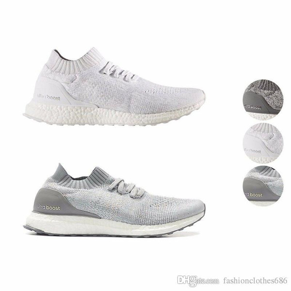 Compre 2019 Adidas Ultra Boost Uncaged Running Shoes Triple Negro Blanco Rojo Parley Hombres Mujeres Top Quality Real UltraBoost Sport Sneakers