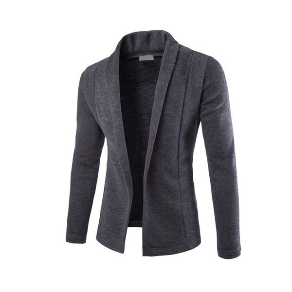 good quality 2019 Brand New Men's Cardigan Sweater Overcoat For Male V Collar Knitwear Cardigan Leisure Outer Wear Clothing Garment