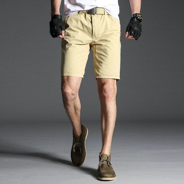 Harajuku Nice Summer New Cargo Shorts Hommes Coton Slim Fit Mâle Lavage Vintage Court Pantalon De Mode Haute Qualité Hip Hop Vêtements