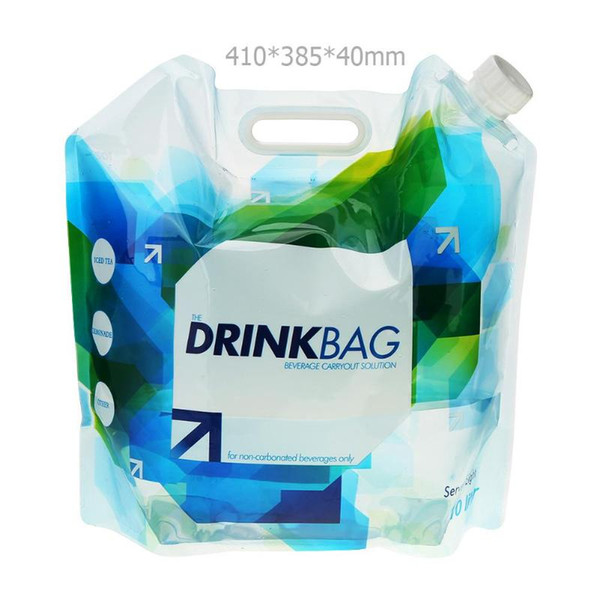 best selling 10L Outdoor Foldable Folding Collapsible Drinking Water Bag Car Water Carrier Container for Outdoor Camping Hiking Picnic BBQ