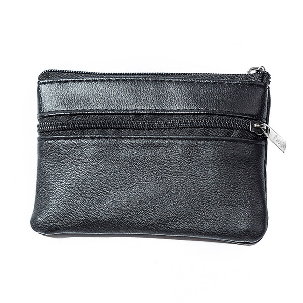 Mini Soft Men WoMen Card Coin Key Holder Zip Change Purse Pouch Wallet Pouch Bag Purse Gift