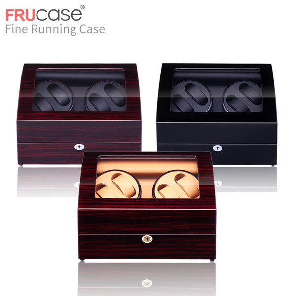 Watch Winder For Automatic Watches New Version 4+6 Wooden Watch Accessories Box Watches Storage Luxury T190618