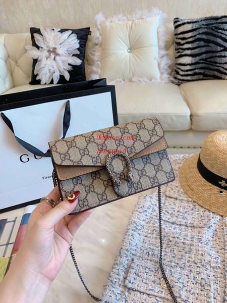 2019 Nuevos bolsos, bolsos, bandolera mujer, elegante, elegante, impresionante, delicado, suave, lindo y mini