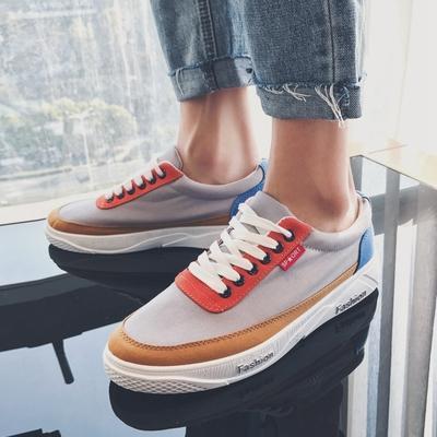 Scarpe di tela estate traspirante versione coreana degli uomini marea casual scarpe pedale morbido fondo pigro