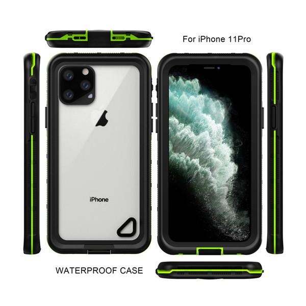 IP68 resistente al agua Divers caso de telefonía móvil a prueba de golpes Snowproof hermético al polvo impermeable de 6 metros, 2,5 metros fallproof para iPhone 11 Pro