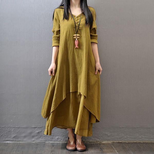 Long Sleeve Yellow
