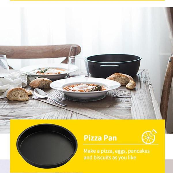 6 Unids / set Cesta para hornear + Plato para pizza + Parrilla de doble capa + Almohadilla para pan + Parrilla para freidora de aire eléctrica