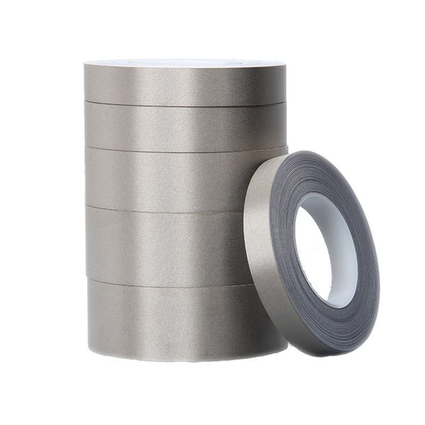 30mm*50M Conductive Fabric Tape EMI Shielding Tape Single Side Ni-Cu Plated Conductive Cloth Conductive Adhesive Tape for Electronics