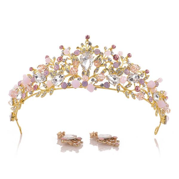 nueva especiales calidad límpido a la vista Compre Didder Silver Crystal Tiara Crown Diadema Princesa Elegante Corona  Con Peines Para Mujeres Nupciales Bodas Prom Fiesta De Cumpleaños A $17.75  ...