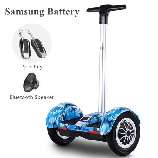 10 inch hoverboard 2 two wheel mart elf balancing cooter electric kateboard ul2272 hover board teering wheel