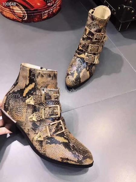 Großhandel Winter Damen Kurze Stiefel Leder Dicken Boden Martin Stiefel Qualität Top Schicht Rindsleder + Feine Vieh Innenwolle Bein Importiert