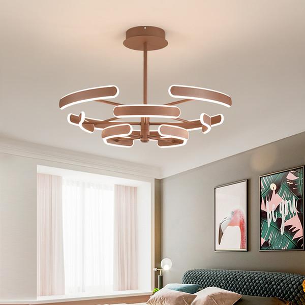 Modern New Living Room Lamp Modern Minimalist Style Chandelier Nordic  Restaurant Bedroom Lamp Luxury Atmospheric Ceiling Lamp Industrial Pendant  ...
