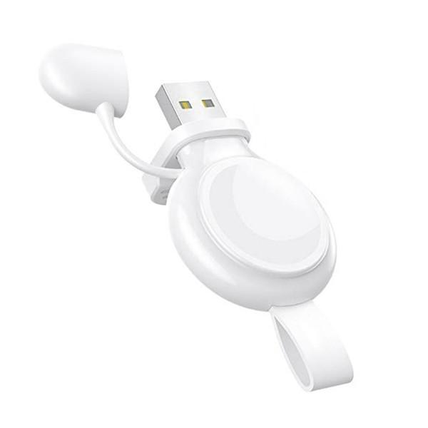 Regarder Chargeur, Charging sans fil magnétique portable USB, Compatible avec iWatch Série 4 3 2 1 44mm 40 mm 42 mm 38 mm
