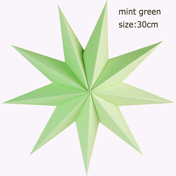 9 angles 30cm menthe