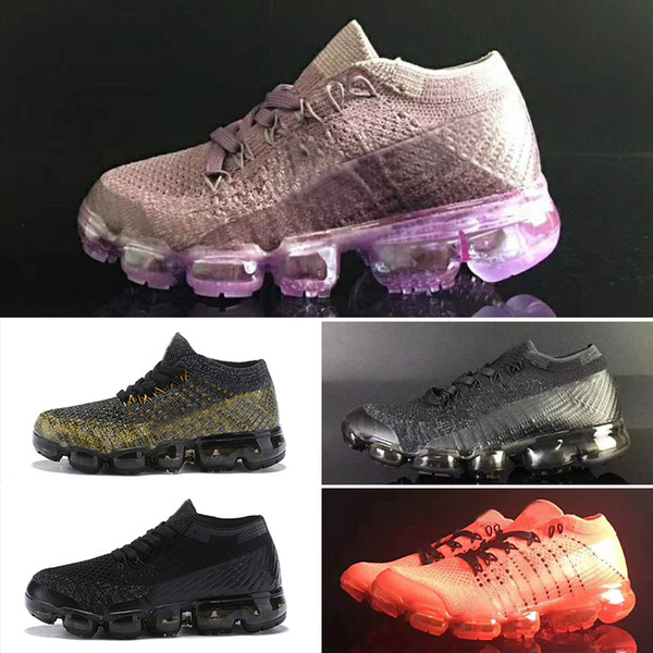 Compre Nike Air Max De Running Zapatillas De Deporte Infantiles Infantiles Del Arco Iris Negro Zapatillas Deportivas Para Niños, Niñas Y Niños