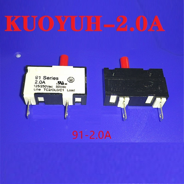 top popular Taiwan KUOYUH small current overload protector 91-BPR-2.0A instrument protector 2021