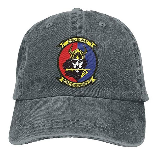2019 New Atacado Bonés de Beisebol Dos Homens de Algodão Lavado Sarja Boné de Beisebol DOS EUA Da Marinha VFA-125 Rough Raiders Esquadrão Hat