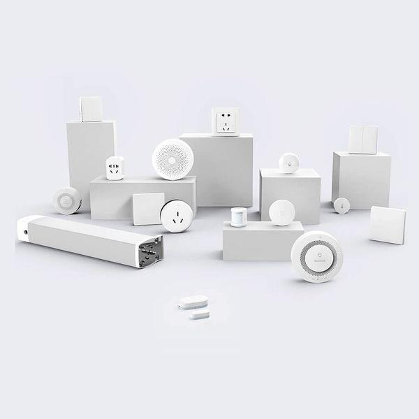 2018 Original Xiaomi Inteligente Em Casa Kits Porta Gateway Sensor de Janela Sensor de Corpo Humano Sem Fio Interruptor de Umidade Zigbee Soquete MI APP