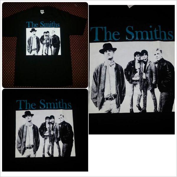 Кузнецы черный с коротким рукавом рок-группа футболка ретро 80-х тройник кузнецы S-XL прохладный повседневная гордость Майка мужчины унисекс