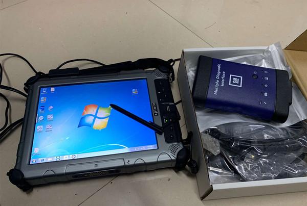2019 für gm mdi mit Laptop ix104, installiert mit mdi gas tech2win-Komplettsatz, bereit zum Arbeiten mit WiFi-MDI-Interface-Diagnosetool