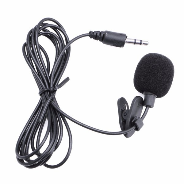 Mini Hands Free Clip On Lapel Microphone Mic For PC Notebook Laptop Skype 3.5mm-M28