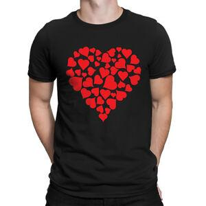 Heart Of Hearts Valentines Day Heart Love Relationship adulto camiseta