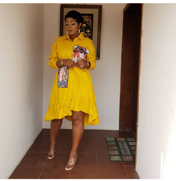 Women Long Sleeve 100% Cotton Shirt Dresses Turn Down Collar High Low Midi African Women Casual Dresses P641