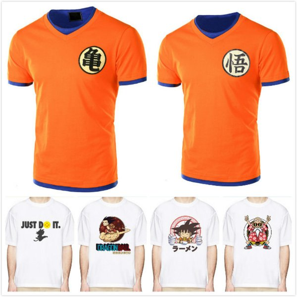 2018 Camiseta Hombre Summer Top Z super sonok cosplay Camisetas divertidas anime vegeta DragonBall Camiseta top