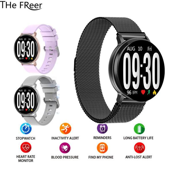 S8 Smart Bracelet Fitness Tracker Heart Rate Monitoring Waterproof Call Information Reminder Push Sports men women kids Watch