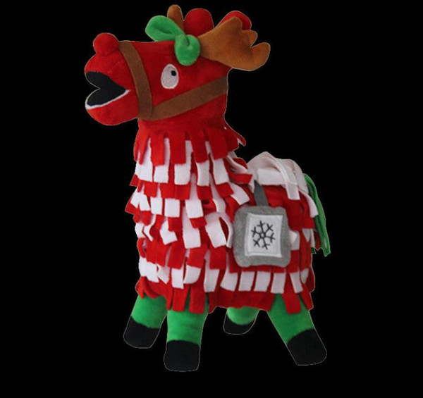 Llama Christmas Decorations.30cm Fortnite Christmas Plush Toy Deer Llama Plush Toy Figure Doll Soft Stuffed Animal Toy Gift Kka6236 Online Shopping Christmas Decorations Online