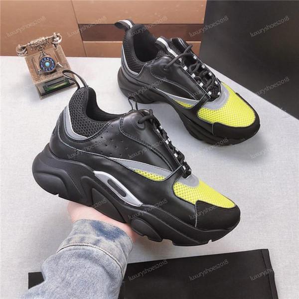 2019 Yeni Yüksek Kalite B22 Kadın Erkek Fransız Tasarımcı Markalı Günlük Ayakkabılar Tuval Mesh Yukarı B22 Eğitmenler Tenis Ayakkabıları Kadınlar Sneakers i02