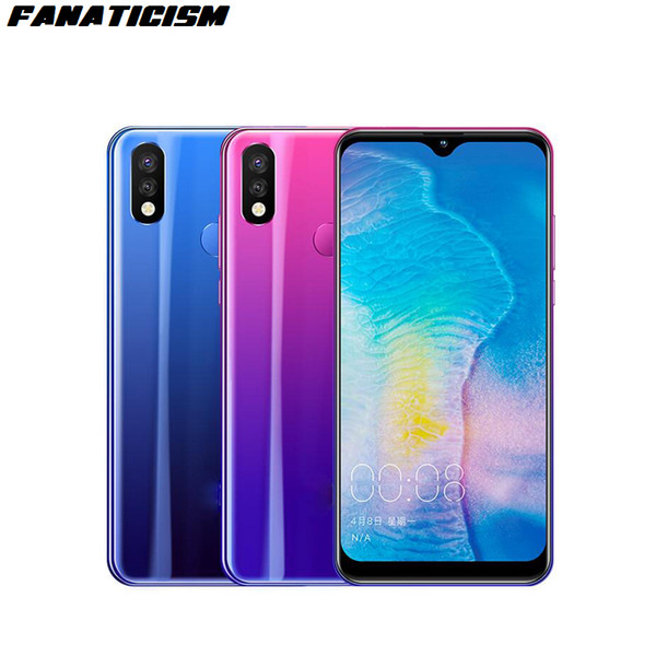 Fanaticism Brand 8X 6.2 inch 4GB RAM 64GB ROM MT6763 Octa Core Android Mobile Phone Face ID Unlocked 4G LTE Cellphone