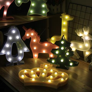 2019 Neon LED Neon Sign Light Battery Operated Bedside Table Decoration Night Light For Birthday Wedding Christmas Neon Signs